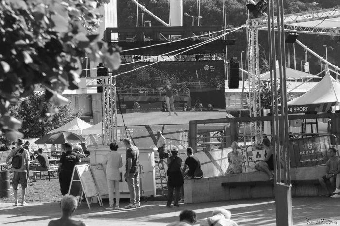 Outdoor screen OS Rio 2016, Budapest