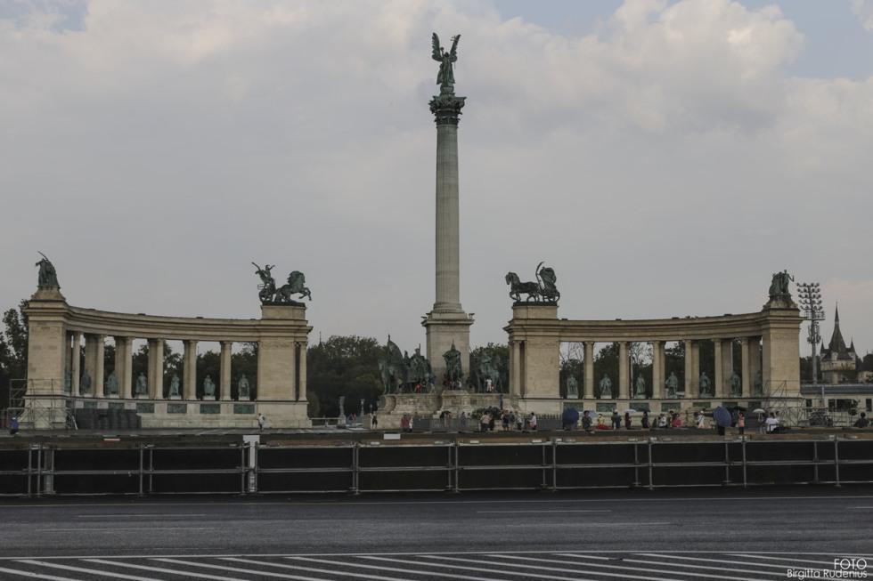 Hero Square, Budapest